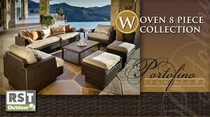 Portofino Patio Furniture Portofino 8 Piece Collection Youtube