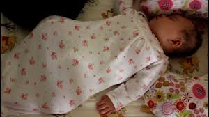 Ways To Help Baby Sleep In Crib by Baby Sleeping In Her Crib At Four Months Old Youtube