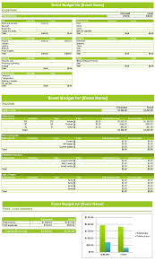 event budget planner template u2013 for excel save word templates