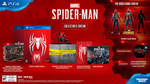 collector s marvel s spider man collector s edition for playstation 4 gamestop