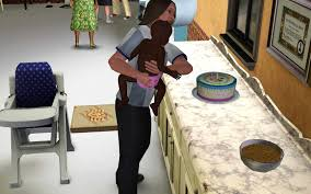 Wedding Cake In The Sims 4 The Sims 3 Parenting Guide Throwing Birthday Parties For Kids