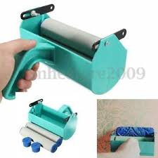 single color decoration paint painting machine for 7 inch wall