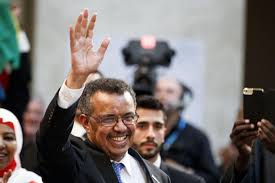 ethiopia u0027s tedros elected first african to head who upi com