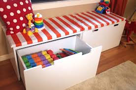 Playroom Storage Furniture by The Stuva Storage Bench Provides A Comfortable Window Seat While