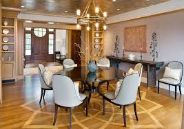 half round dining table half round dining table dining room contemporary with parquet floor