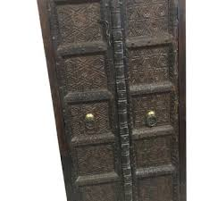 Vintage Armoire Indian Antique Vintage Armoire Old World From Mogulgallery On