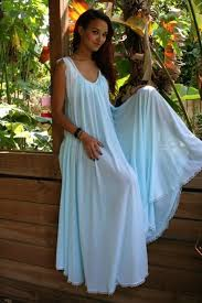 Nightgowns For Brides Tiffany Blue Wedding Lingerie Nightgown Full Sweep Nylon Angelic