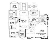 2500 Sq Ft Ranch Floor Plans Ranch Style House Plans 1314 Square Foot Home 1 Story 3