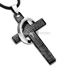 titanium mens jewelry necklace images Luxury fashion new titanium cross necklace men necklace for men jpg