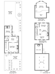 Historic Italianate Floor Plans Less Than 1m For A Pre Civil War House In Fort Greene Curbed Ny