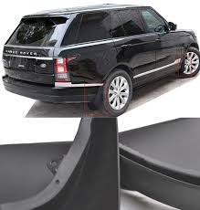 land rover mud front u0026 rear mud flap flaps fit for landrover range rover l405