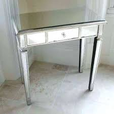Venetian Console Table Venetian Styled Glass Bed Dressing Table Small Mirrored Glass
