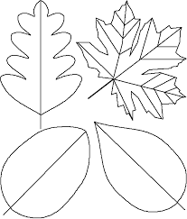 Thankful Tree Craft For Kids - leaf template for rak tree place a leaf on the tree for each act