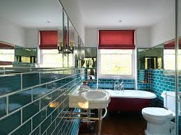 Red Bathroom Designs Colors 15 Eclectic Bathrooms With A Splash Of Delightful Blue