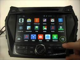 hyundai santa fe bluetooth android auto dvd player for hyundai santa fe 2013 2015 gps