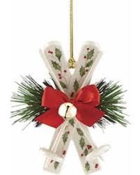 sale lenox 869892 skis ornaments as shown