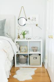 bedroom remarkable beautiful cheap mirror nightstand with wall