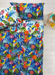 Bhs Duvet Parrot Print Bedding Set Bird Themed Bedding Pinterest Bed