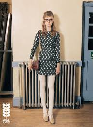 clothing and accessories in orla kiely autumn winter caign 2018