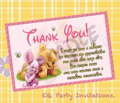 thank you notes for baby shower baby shower thank you notes exles baby shower ideas