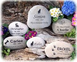 pet memorial garden stones personalized pet dog cat paw print memorial cemetery grave marker