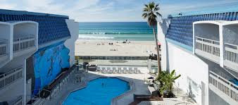 hotels pacific beach san diego blue sea beach hotel san diego