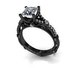 princess cut black engagement rings rings for princess cut black gold engagement rings