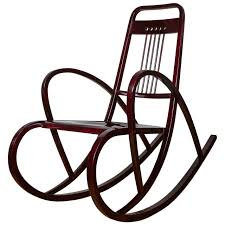 Rocking Chair Viennese Secession Rocking Chair By Thonet Circa 1911 For Sale At