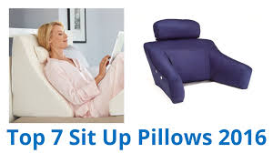7 best sit up pillows 2016 youtube