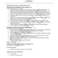 Art Teacher Resume Examples by Art Education Teacher Resume Or Cv Example With Education