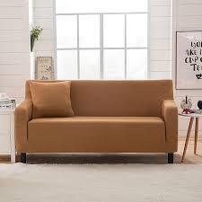 sofa hussen stretch moderne gestreifte sofa hussen strick jacquard ecke sofa abdeckung