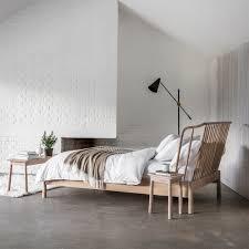 hudson tripod floor l wycombe oak bed frame by frank hudson frank hudson cuckooland