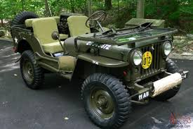 willys jeep truck for sale willys m38 jeep korean war army military vehicle fully restored
