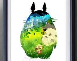 Studio Ghibli Decor View Studio Ghibli By Genefyprints On Etsy
