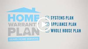 sears home services sears home repair protection plan home plan