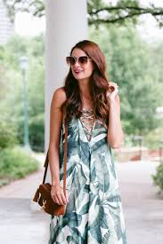 show me your mumu banana leaf dress the miller affect