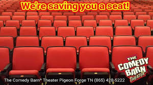 comedy barn theater home facebook