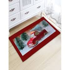 Christmas Bathroom Rugs Christmas Rugs Red Cheap Casual Style Online Free Shipping At