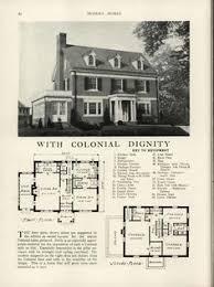 Colonial Revival House Plans Modern Colonial Revival 1918 U2013 C L Bowes Co Chicago