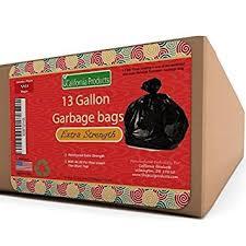 Amazoncom  Gallon Durable Trash Bags Hefty Flex For - Bathroom trash bags