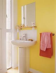 bright bathroom ideas bright and yellow ideas for bathroom decoration
