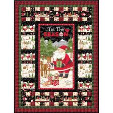 wilmington prints debbie mumm santa and friends quilt pattern