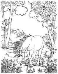 unicorn color pages unicorn a realistic drawing of unicorn