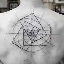 geometric spiral u003c u003cgeometric tattoos u003e u003e pinterest spiral
