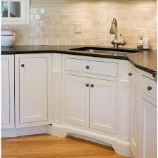 black modern kitchen cabinet pulls utopia alley 1 14 in matte black modern cabinet knob