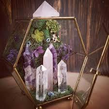 i invite you to take a peek into the newest crystal garden kingdom