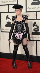 ariana grande halloween costume when ariana grande met madonna at the grammys pic says it all