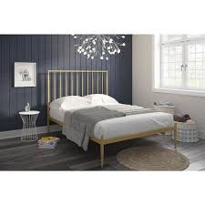 dhp giulia pink modern metal bed free shipping today overstock