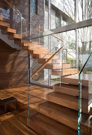 best 25 glass stairs ideas on pinterest modern stairs design