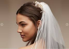 wedding hair veil wedding veils hair accessories david s bridal